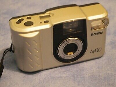 Konica Z up60 35mm point and shoot film camera