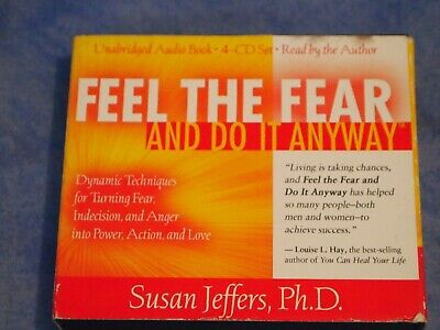 Susan Jeffers feel the fear and do it anyway audio book cd