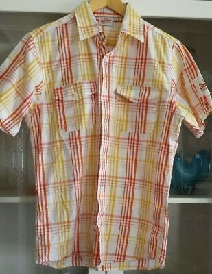 XXXX Summer Bright Lager Shirt Sz L Collared Button Up Cool Cotton Collectable