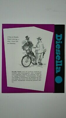 Prospectus Catalogue Brochure Cyclomoteurs DIESELLA 1957