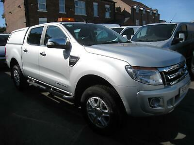 65 REG Ford Ranger 2.2TDCi 150PS EU5 4x4 DOUBLE CAB PICK UP LIMITED