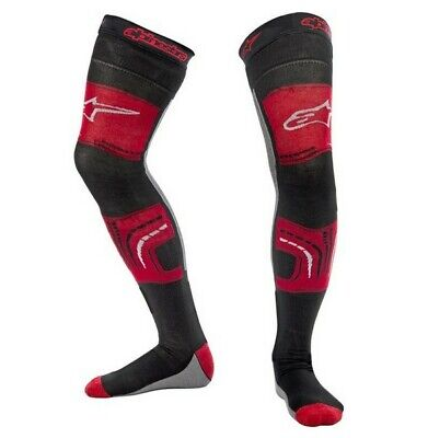 Alpinestars Knee Brace Long Socks Red Black Grey Motocross Mx Enduro Cheap New