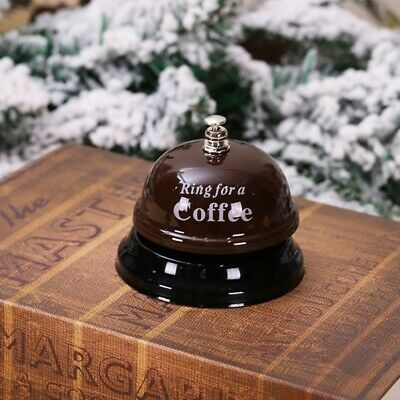 Cute Service Call Bell Ring With Anti-slip Base For Hotel Desktop Party Decor