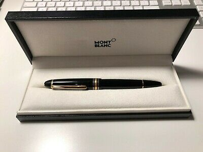 Fontain Pen Mont Blanc 146- Meisterstuck  Gold, Medium Nib