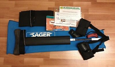 New Minto Sager Emergency Medical Bilateral Traction Splint S304