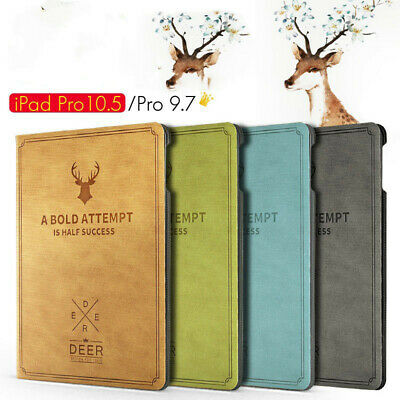 PU Leather Smart Stand Flip Case Cover Shell For iPad 4 3 Mini Air 2 6 Pro 9.7