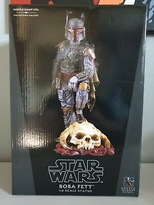 Gentle Giant Boba Fett Statue Limited Edition Collectors Gallery Star Wars
