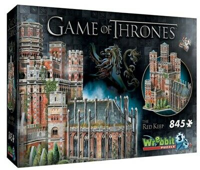 Game Of Thrones The Red Keep 3D Puzzle 845 pcs WREBBIT
