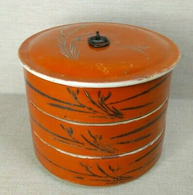 Antique Chinese porcelain box, 19th-20th century.