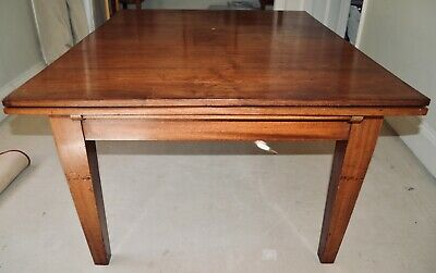 Antique Extending solid wood Period Dining Table - Large