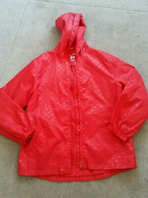 Girls Red Raincoat age 9-10yrs