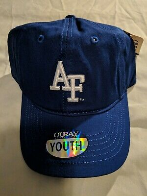 Ouray Sportswear NCAA Air Force Falcons Epic Washed Twill Cap Royal