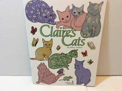 Claire's Cats By Darcy Ashton Quilting Pattern Book