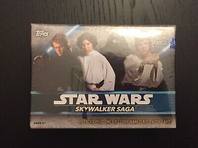 Topps 2019 Star Wars Skywalker Saga 61 Trading Card Blaster Box Exclusive Card