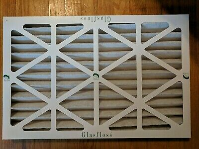 "Glasfloss Air Filter:16""x24""x2"" Pleated AC/Furnace (Quantity: 8) Merv 10, Z-Line"