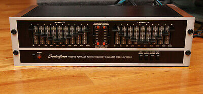 Soundcraftmen RP2215-R 10 band equalizer Tested Excellent Condition