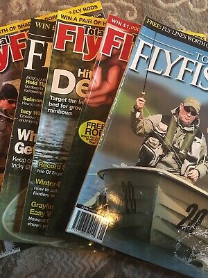 Total Flyfisher magazine Bundle Fly Fishing Magazines X6