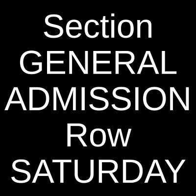 4 Tickets Austin City Limits Festival Weekend One: Childish Gambino, The 10/5/19