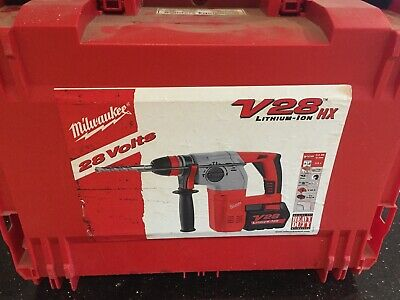 Milwaukee v28 HX sds hammer drill and chisel
