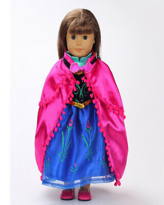 Handmade Doll Outfit Clothes Dress Accessories Lot For 18 inch Toy Girl Fashion