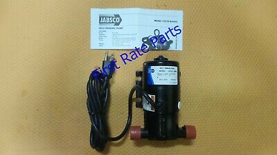 Jabsco 12310-0003 Flexible Impeller Pump Self-Priming 115V Boat Dock Marine AC