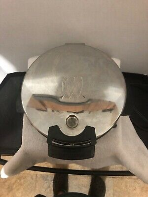 Vintage Toastmaster Model 442A Non Stick Waffle Maker Made In Usa!! Tested Works