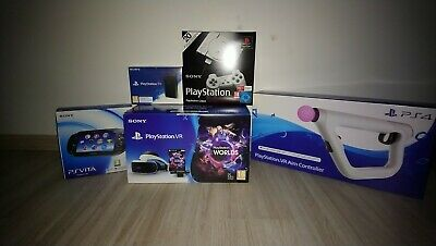 Casque Sony PlayStation VR+ PS VITA + PS TV + AIM controller + PS classic