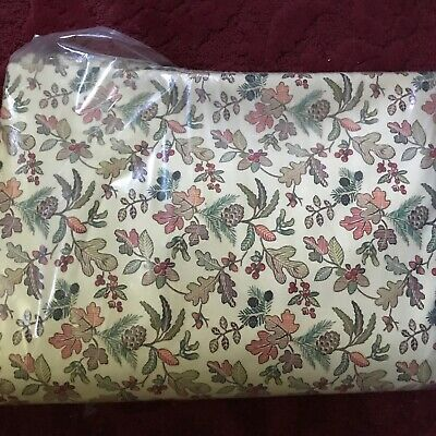 "Custom-made with LONGABERGER Autumn Path fabric 36"" Table Sq/ tablecloth/overlay"