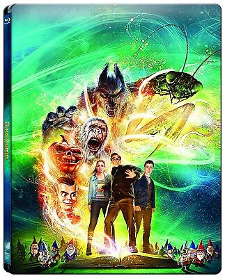 Goosebumps Limited Edition Steelbook (Blu-ray and DVD) [Blu-ray]