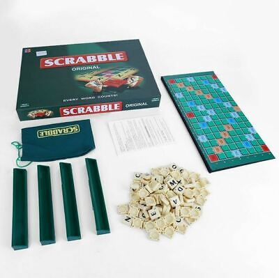 Scrabble Original Board Game Family Kids Adults Educational Toys Puzzle Game UK