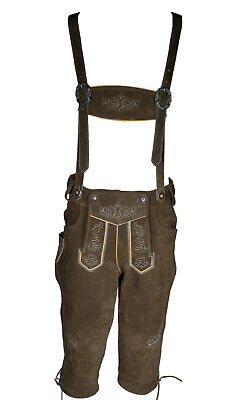 "Mens Real Suede Bavarian Lederhosen UK SIZE 34"" / EUR 50"""
