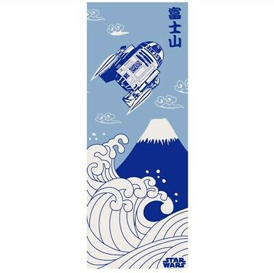 STAR WARS TENUGUI Japanese Cotton Fabric Hand Towel MADE IN JAPAN 90X34cm T04