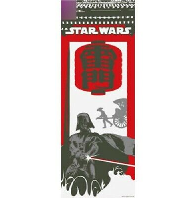 STAR WARS TENUGUI Japanese Cotton Fabric Hand Towel MADE IN JAPAN 90X34cm T36