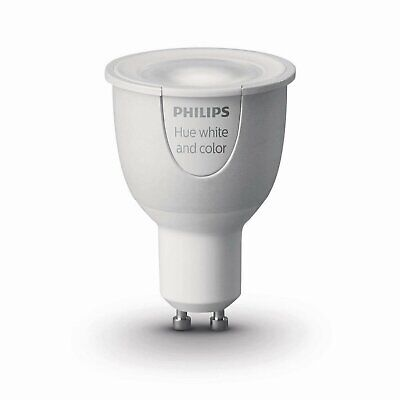 40 PACK   Philips Hue White and Color Ambiance Refurbished GU10 Dimmable LED
