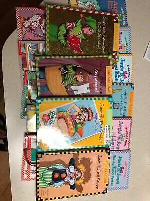 16  OF JUNIE B JONES BOOKS~Homeschool Library Children's Chapter