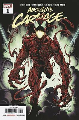Absolute Carnage #1 (Of 5) 4th Printing Variant Bagley New Art AC (Marvel 2019)