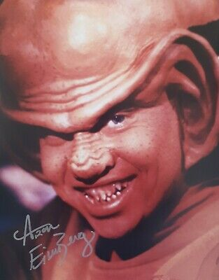 Aron Eisenberg Star Trek Deep Space 9 Nog Autograph