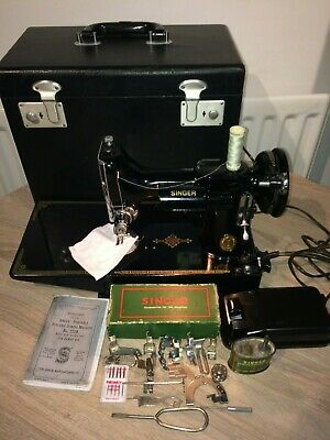 1950 Vintage Singer 221K Featherweight sewing machine,Collectable sewing machine