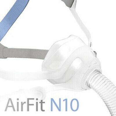 ResMed AirFit™ N10 Nasal CPAP Mask with Headgear (Size Wide)