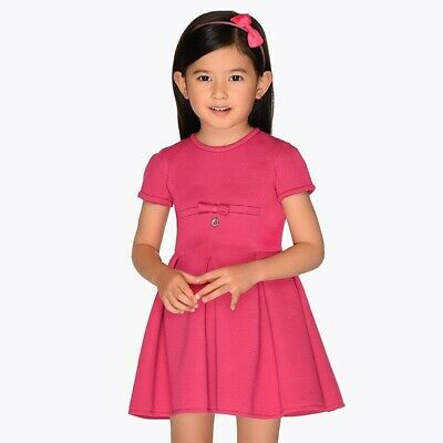 New Mayoral Girls Double knit Dress, Age 2 years (4929)