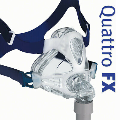ResMed Quattro™ FX Full Face CPAP Mask with Headgear (Size M)