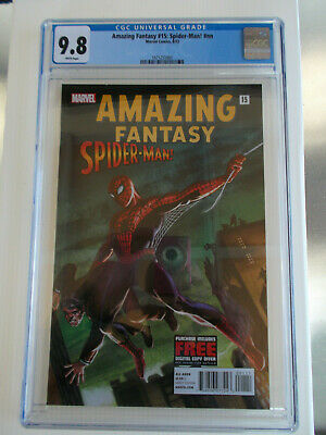 Amazing Fantasy 15 CGC 9.8 like Halo 2012 Reprint 1st Spider-Man Marvel Comic