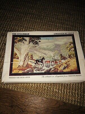 Tapestry Kit Needlepoint  The Stockman