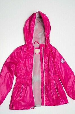 Michael Kors Girls Raincoat 4-5 years pink waterproof - EXCELLENT CONDITION