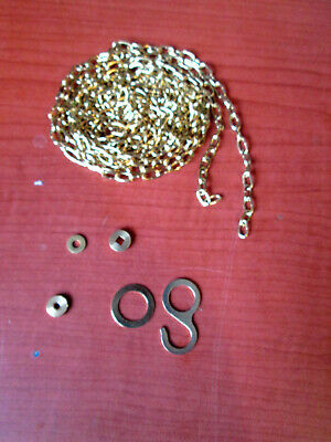 "1 New Old Stock Cuckoo Clock Weight Chain 69""   61LPF.   (525T)"