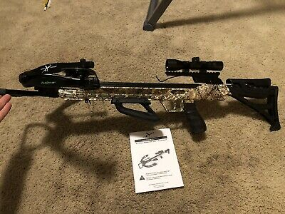 80 Yards!!  Express Piledriver 390 Crossbow Package w/Crank Device
