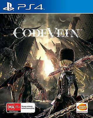 Code Vein Sony PS4 RPG Action Adventure Game Playstation 4