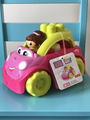 Mega Bloks First Builders Lil' Vehicle - Catie Convertible - Brand New 🚘👶🏻