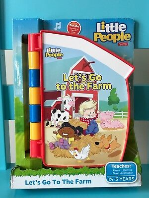 Fisher Price - Little People- Let's Go to The Farm - Puzzle Book  👶🏻