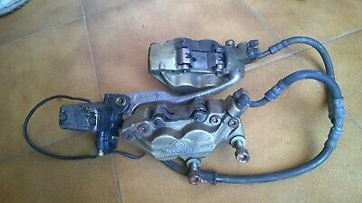 Ducati ST2 ST4 Front Brembo brake calipers hoses and master cylinder
